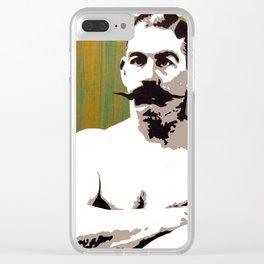 """Boston Strong Boy"" John L. Sullivan Clear iPhone Case"