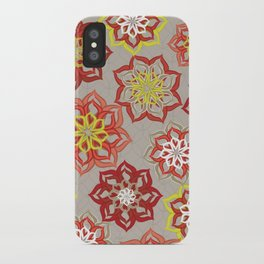 Fresh Cut Flowers iPhone Case
