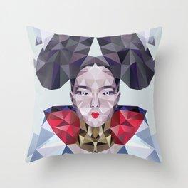 Freezing Sugarcube Throw Pillow