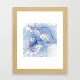 fractal design -34- Framed Art Print