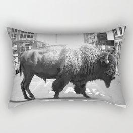 Street Walker Rectangular Pillow