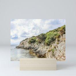 Seacoast near Alghero and Capo Caccia Mini Art Print
