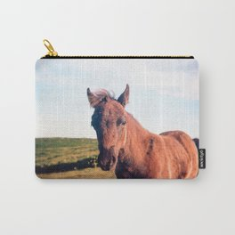 Dartmoor Pony Portrait Carry-All Pouch