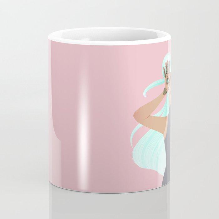 Hamsa: Hand of Fatima Coffee Mug