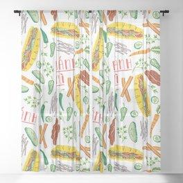 Banh Mi Sheer Curtain