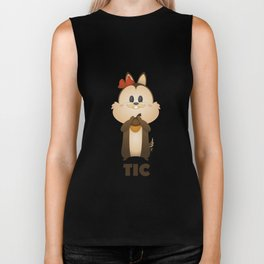 Chip (Tic french) Biker Tank