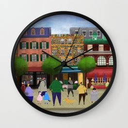 have a good weekend! Wall Clock