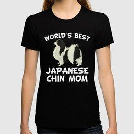 World's Best Japanese Chin Mom T-shirt