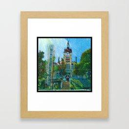 Old Court House Framed Art Print