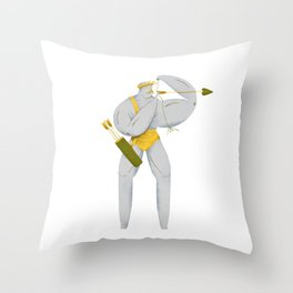 El Bow Throw Pillow
