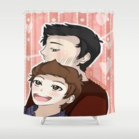 sterek Shower Curtains featuring Sterek #2 by liloloveyou024