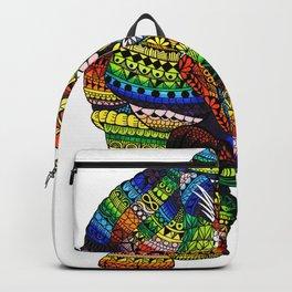 Rainbow Rhino Backpack