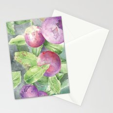 Grape Stationery Cards