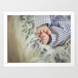 Tiny Toes Art Print