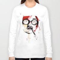 gemma Long Sleeve T-shirts featuring Gemma. by Stephanie June Ellis