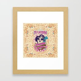 My Catrina Framed Art Print