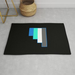 Fraysexuality and Frayromanticism Rug