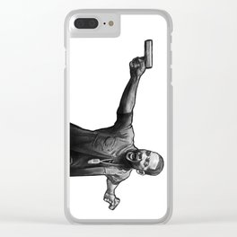 Mike Lowrey Clear iPhone Case