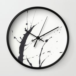 Ink Blot Wall Clock