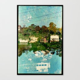 Landscapes c5 (35mm Double Exposure) Canvas Print