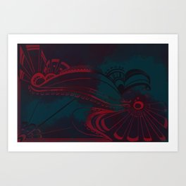 Ravenflight Art Print