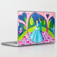 cinderella Laptop & iPad Skins featuring Cinderella by Sandra Nascimento