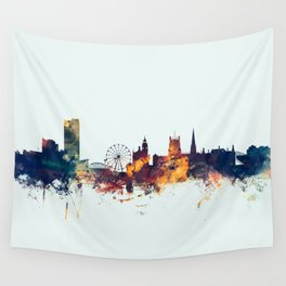 Sheffield England Skyline Wall Tapestry