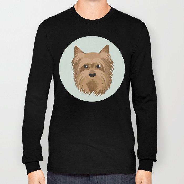 Yorkshire Terrier Pattern Long Sleeve T-shirt