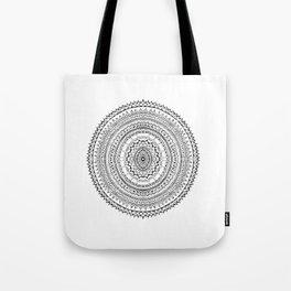 Round Patterns Tote Bag