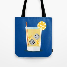 Cocktail Dice Tote Bag