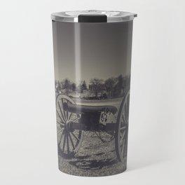Artillery Placement Gettysburg National Military Park Pennsylvania Civil War Battlefield  Travel Mug