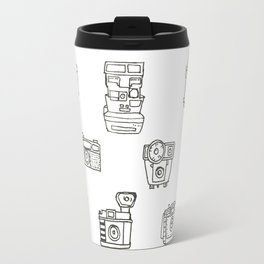 Cameras: Black Travel Mug