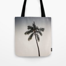 palm tree ver.charcoal Tote Bag
