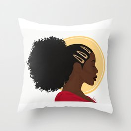 Sunrise Meditation Throw Pillow