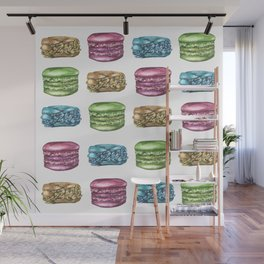 Colorful Macaroon Variety Wall Mural