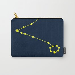 PISCES (YELLOW-NAVY BLUE STAR SIGN) Carry-All Pouch