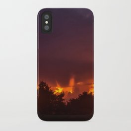 Sunset After The Storm iPhone Case