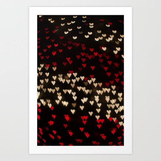 Love Christmas Lights Art Print
