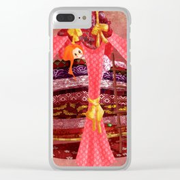 The princess and the pea Clear iPhone Case