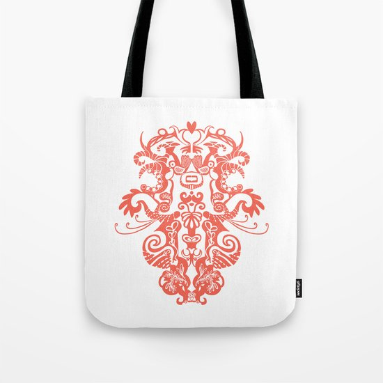 Harmony in Red Tote Bag