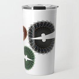 Abstract Chomp Travel Mug