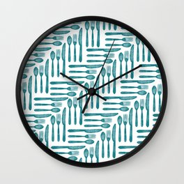 Let's have lunch! Wall Clock