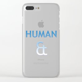 Human et – Humanity Colour Clear iPhone Case