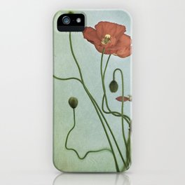 Poppy Dance II iPhone Case