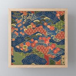 Japan Quilt Framed Mini Art Print