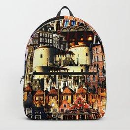 Belgian Houses Backpack
