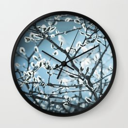 Sure Sign of Spring Wall Clock
