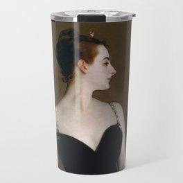 """John Singer Sargent """"Madame X (Madame Pierre Gautreau)"""" Travel Mug"""
