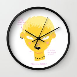 Full of It Wall Clock