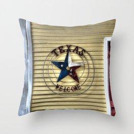 Texas Welcome Throw Pillow